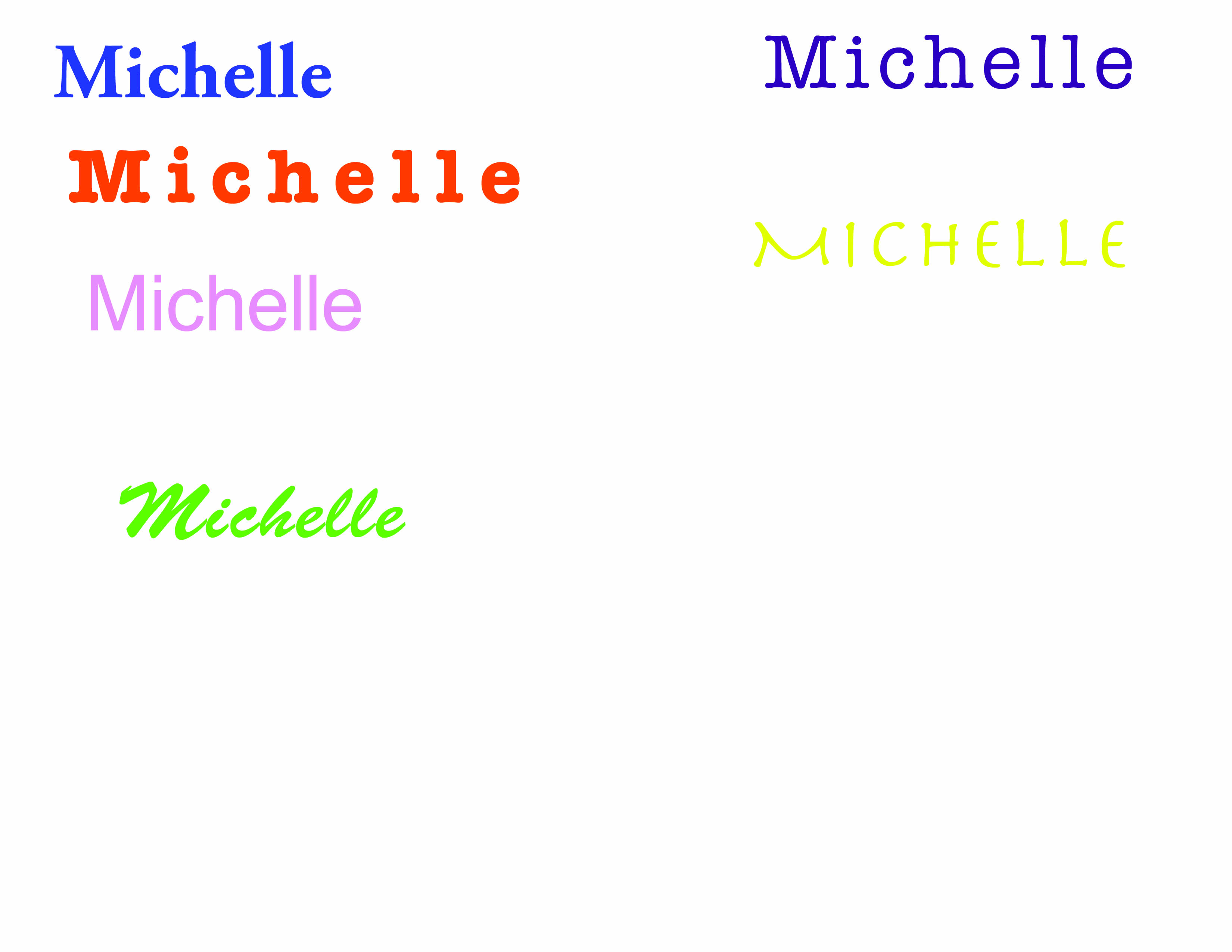 michelle_name