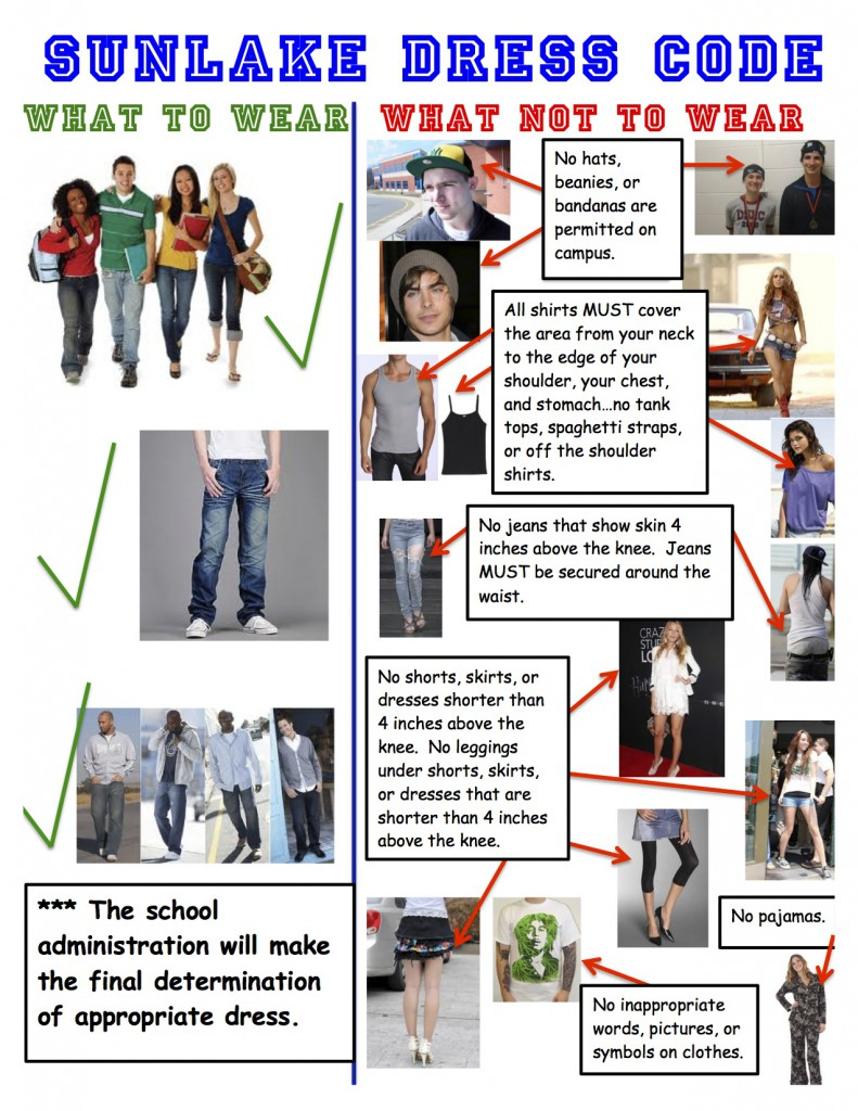 no dress code essay Read dress codes - no way free essay and over 88,000 other research documents dress codes - no way the rule that i would most want changed at our middle school would be the dress code we should be able to have our shirts untucked, be able to wear whatever we want, and our school.