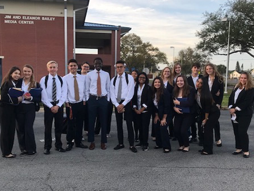 Our HOSA students ROCKED the Regional Competition! Congrats!