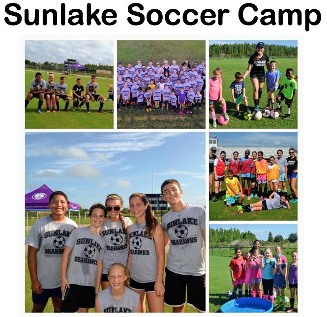 Sunlake Soccer Camp 2018