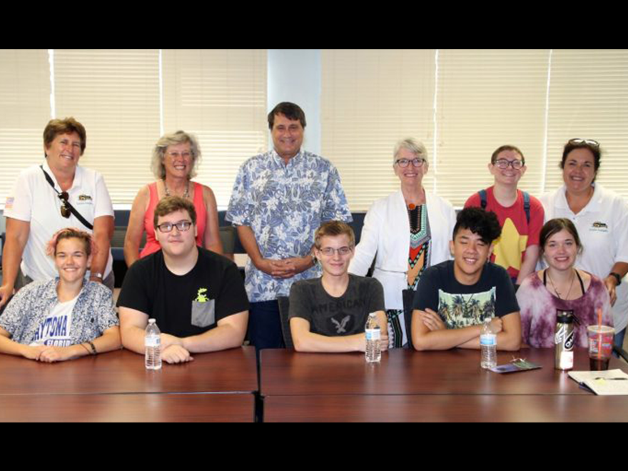 Read about SLHS Students Visit to USFCMS!
