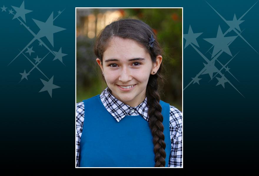 Sofia Almeida Outstanding Senior for 2018