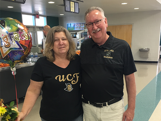 Congratulations to Susanna Savoy, Sunlake SRP of the Year