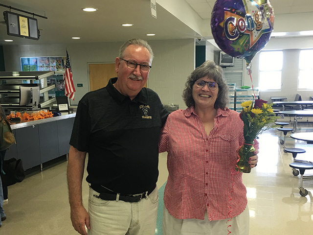 Congratulations to Ellen Ray, Sunlake Teacher of the Year