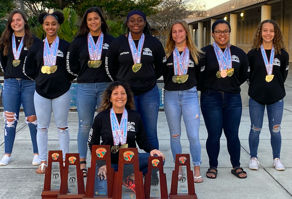 Congratulations to The 2019-2020 Girls Weightlifting Team on  winning another State Title. Back to Back!
