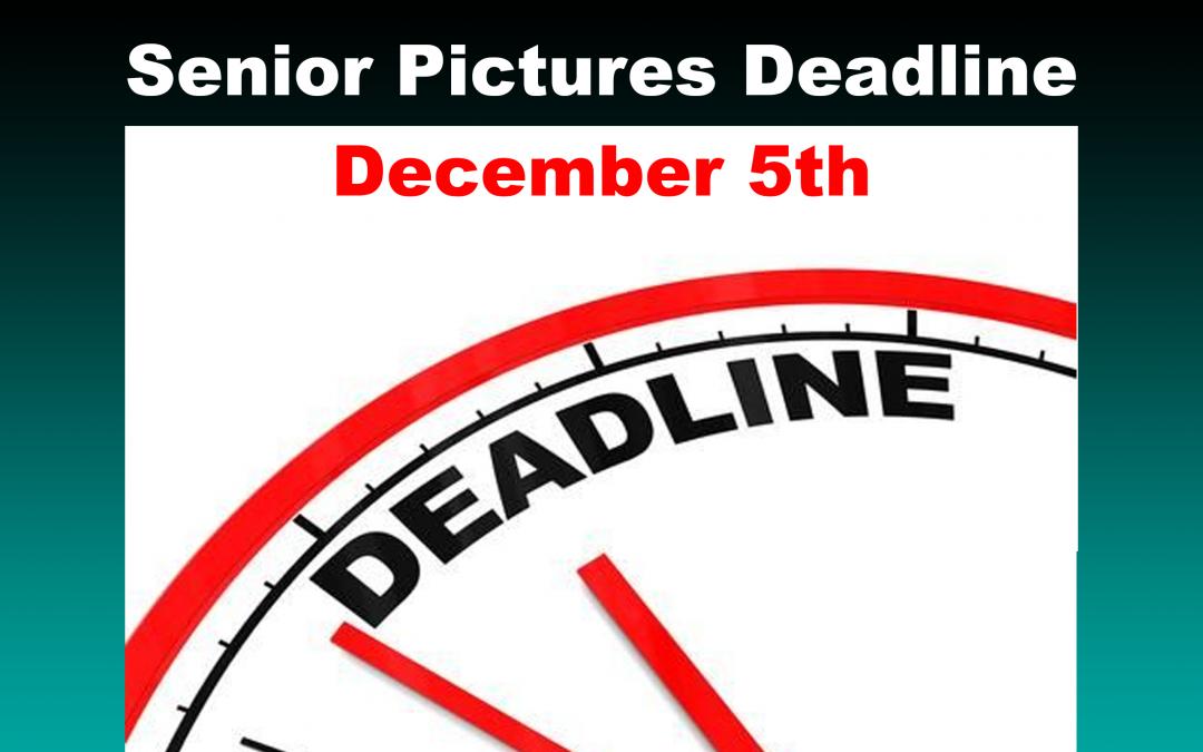 SR Pictures Deadline – Dec. 5th, 2020
